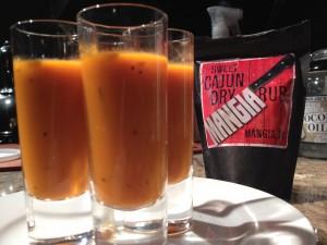 Cajun Tomato Soup Shooters