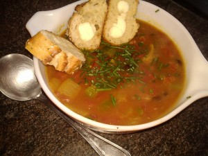 Spicy Cajun Black Bean Soup