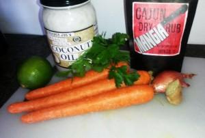 Mangia Coconut Cajun Carrot Ribbons